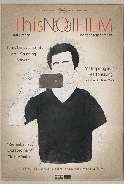 'This Is Not a Film' poster art