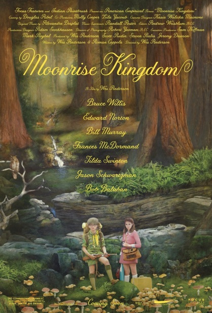 Moonrise Kingdom - poster art