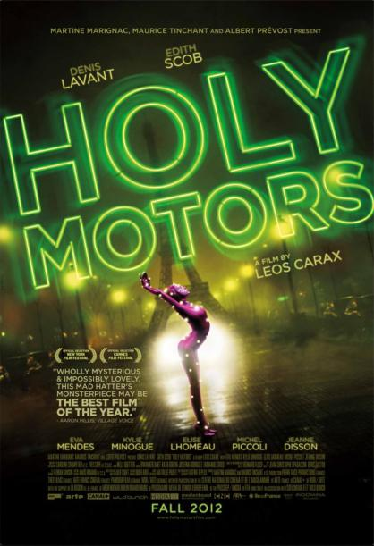 Holy Motors - poster art. Image courtesy of Indomina Releasing