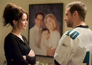 Jennifer Lawerence and Bradley Cooper in 'Silver Linings Playbook.' Image courtesy of the Weinstein Company
