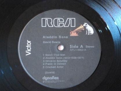 Aladdin Sane Side A