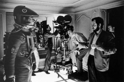 Kubrick shooting 2001