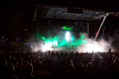 Sigur Ros at Klipsch Amphitheater, Oct. 9, 2013. Photo by Monica McGivern