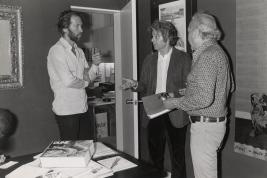 David Carradine meets Jodorowsky circa 1974