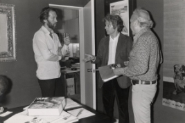 David Carradine meets Jodorowsky circa 1974
