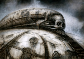 HR Giger concept art for Dune