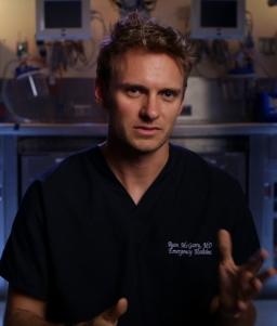#9 - Ryan McGarry, M.D., Director of CODE BLACK, a Long Shot Factory release 2014