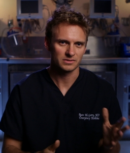 #9 - Ryan McGarry, M.D., Director of CODE BLACK, a Long Shot Factory release 2014