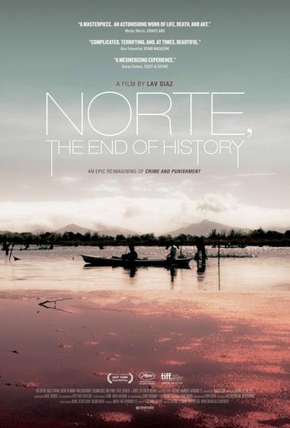 NORTE, THE END OF HISTORY, (aka NORTE, HANGGANAN NG KASAYSAYAN), US poster art, 2013. ©Cinema