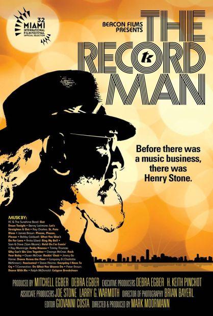 Record Man poster