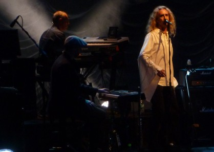 Keyboardists and Nad Sylvan singing with Steve Hackett Fort Lauderdale by Hans Morgenstern