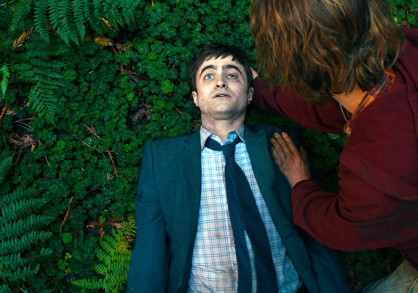 Daniel Radcliff and Paul Dano in Swiss Army Man