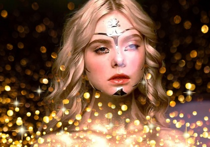 Jesse and gold Neon Demon