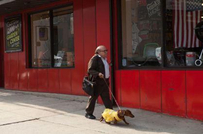 Wiener-Dog and Danny DeVito