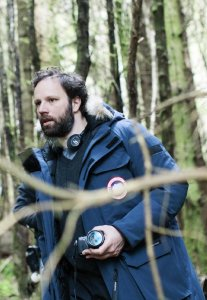 Yorgos Lanthimos on the set of The Lobster